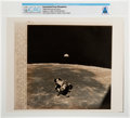 "Explorers:Space Exploration, AP Original Wirephotos: ""Beginning Journey Home"" August 2, 1969, Directly From The Armstrong Family Collection™, CAG Certi..."
