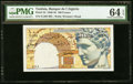 World Currency, Tunisia Banque de l'Algerie 100 Francs 10.11.1947 Pick 24 PMG Choice Uncirculated 64 EPQ.. ...