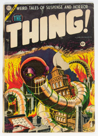 The Thing! #15 (Charlton, 1954) Condition: GD