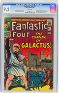 Silver Age (1956-1969):Superhero, Fantastic Four #48 (Marvel, 1966) CGC NM- 9.2 White pages....