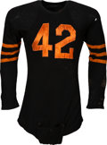 Football Collectibles:Uniforms, 1948-49 Sid Luckman Game Worn Chicago Bears Jersey, MEARS A10....