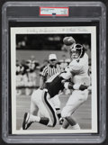 Football Collectibles:Photos, 1987-90 Brett Favre Southern Mississippi Original Photograph, PSA Type I....