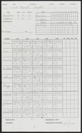 Autographs:Letters, 1995 Ramon Martinez No-Hitter Official Lineup Card with Martinez LOA....
