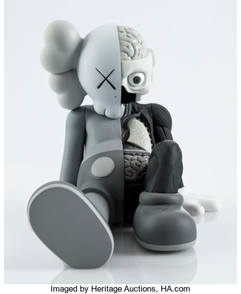 the latest 62870 9d66b KAWS (American, b. 1974). Resting Place Companion (Grey ...