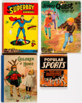 Books:Miscellaneous, Children's Books Group of 10 (Various Publishers, 1918-73) Condition: Average GD/VG.... (Total: 10 Items)
