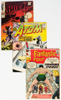 Silver Age (1956-1969):Miscellaneous, Comic Books - Assorted Silver Age Comics Group (DC/Marvel, 1962-69) Condition: Average VG.... (Total: 6 Items)