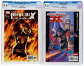 Ultimate X-Men #1 and X-Men: Phoenix Endsong #1 CGC-Graded Group (Marvel, 2001-05) CGC NM+ 9.6 White pages.... (Total: 2...