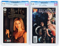 Modern Age (1980-Present):Horror, Buffy the Vampire Slayer #1 and Battlestar Galactica #1 CGC-GradedGroup (Dark Horse/Dynamite, 1998-2006).... (Total: 2 )