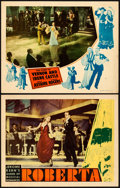 "Movie Posters:Musical, Roberta & Other Lot (RKO, 1935). Fine/Very Fine. Lobby Cards(2) (11"" X 14"").. ... (Total: 2 Items)"