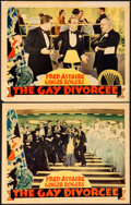 Movie Posters:Musical, The Gay Divorcee (RKO, 1934). Fine+. Lobby Cards (...