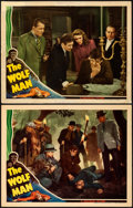 Movie Posters:Horror, The Wolf Man (Universal, 1941). Fine+. Lobby Cards...