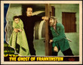 Movie Posters:Horror, The Ghost of Frankenstein (Universal, 1942). Fine/Very Fin...