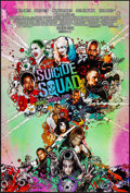 "Movie Posters:Action, Suicide Squad (Warner Bros., 2016). Rolled, Near Mint. One Sheet (27"" X 40"") DS Advance ""Mushroom Cloud"" Style. Action.. ..."