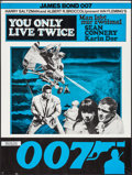 "Movie Posters:James Bond, You Only Live Twice (United Artists, 1967). Folded, Very Fine-. Swiss Poster (23.5"" X 31.5""). James Bond.. ..."