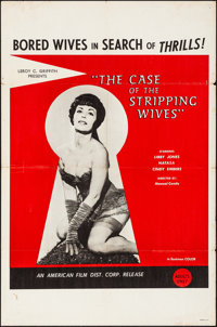 "The Case of the Stripping Wives (AFDC, 1966). Folded, Fine/Very Fine. One Sheet (27"" X 41""). Adult"