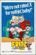 "Movie Posters:Animation, Fritz the Cat (Cinemation Industries, 1972). Folded, Fine/Very Fine. One Sheet (27"" X 41""). Animation.. ..."
