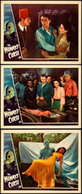 "Movie Posters:Horror, The Mummy's Curse (Universal, 1944). Very Fine-. Lobby Cards (3) (11"" X 14"").. ... (Total: 3 Items)"