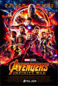 """Movie Posters:Action, Avengers: Infinity War (Walt Disney Pictures, 2018). Rolled, Very Fine/Near Mint. One Sheet (27"""" X 40"""") DS Advance. Action...."""