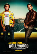"Movie Posters:Drama, Once Upon a Time in Hollywood (Columbia, 2019). Rolled, Near Mint. One Sheet (27"" X 40"") DS Advance. Drama.. ..."