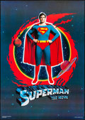 """Movie Posters:Action, Superman the Movie (Warner Brothers, 1978). Rolled, Very Fine. Commercial Poster (22.5"""" X 32""""). Action.. ..."""