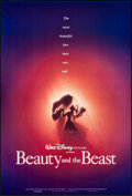"Movie Posters:Animation, Beauty and the Beast (Buena Vista, 1991). Rolled, Very Fine+. One Sheet (27"" X 40"") DS Advance. John Alvin Artwork. Animatio..."