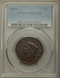 Large Cents: , 1816 1C MS63 Brown PCGS. PCGS Population: (84/37). NGC Census: (27/31). CDN: $800 Whsle. Bid for problem-free NGC/PCGS MS63...