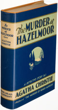Books:Mystery & Detective Fiction, Agatha Christie. The Murder at Hazelmoor. New York: 1931. First U. S. edition....