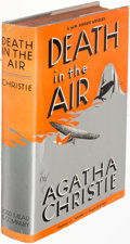 Books:Mystery & Detective Fiction, Agatha Christie. Death in the Air.