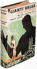 Books:Mystery & Detective Fiction, [Agatha Christie]. Giants' Bread. By Mary Westmacott (pseudonym). Garden City: 1930. First U. S. edition.. ...