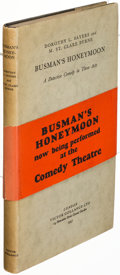 Books:Mystery & Detective Fiction, Dorothy L. Sayers and M. St. Clare Byrne. Busman's Honeymoon. London: 1937. First editions, cloth and wrapper issues... (Total: 2 Items)