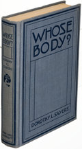 Books:Mystery & Detective Fiction, Dorothy L. Sayers. Whose Body?