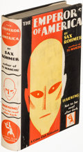 Books:Mystery & Detective Fiction, Sax Rohmer. Pair of Crime Club Books. Garden City:...