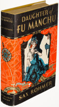 Books:Mystery & Detective Fiction, Sax Rohmer. Group of Three Fu Manchu Books. Garden...