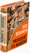 Books:Mystery & Detective Fiction, Sax Rohmer. Group of Three Fu Manchu Books. Garden City: 1936-1948. First edition.. ... (Total: 3 Items)