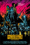 """Movie Posters:Action, Streets of Fire (Universal, 1984). Folded, Very Fine+. One Sheet (27"""" X 40""""). Action.. ..."""