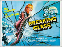 "Breaking Glass (GTO Films, 1980). Folded, Very Fine. British Quad (30"" X 40"") Tom William Chantrell Artwork. R..."