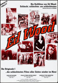 "Movie Posters:Exploitation, Ed Wood Film Festival (R-1990s). Rolled, Very Fine+. German A1(23.25"" X 33""). Exploitation.. ..."