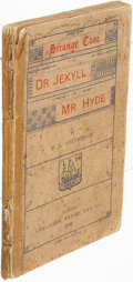Books:Mystery & Detective Fiction, Robert Louis Stevenson. Strange Case of Dr J...