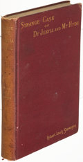 Books:Mystery & Detective Fiction, Robert Louis Stevenson. Strange Case of Dr Jekyll and Mr Hyde. New York: 1886. First edition, binding variant.. ...