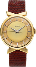 Timepieces:Wristwatch, Hamilton, Golden Tempus, 14K Yellow Gold, Manual Wind, Circa 1957. ...
