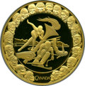 """Canada, Canada: Elizabeth II gold Proof """"Vancouver Olympics - Competition"""" 300 Dollars 2008 PR69 Ultra Cameo NGC,..."""