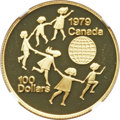 "Canada, Canada: Elizabeth II gold Proof ""Year of the Child"" 100 Dollars1979 PR68 Ultra Cameo NGC,..."