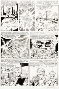 Jack Kirby and Dick Ayers Journey into Mystery #89 Story Page 3 Thor Origin Recap Original Art (Marvel, 1963)