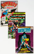 Bronze Age (1970-1979):Miscellaneous, DC/Marvel Silver-Modern Age Comics Group of 43 (DC/Marvel,1960s-80s) Condition: Average VG+.... (Total: 43 Comic Books)