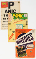 Golden Age (1938-1955):Humor, Panic/MAD Group of 7 (EC, 1954-56) Condition: Average FR.... (Total: 7 Comic Books)