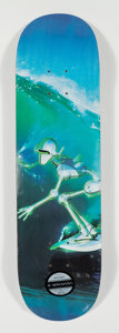 Collectible:Contemporary, Hajime Sorayama X Lane Crawford X APPortfolio. Surfer, 2018. Offset lithograph in colors on skate deck. 32 x 8 inches (8...