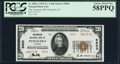 National Bank Notes:Florida, Pensacola, FL - $20 1929 Ty. 2 The American NB Ch. # 5603 PCGS Choice About New 58PPQ.. ...