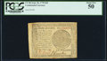 Continental Currency September 26, 1778 $60 PCGS About New 50
