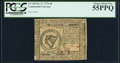 Colonial Notes:Continental Congress Issues, Continental Currency February 17, 1776 $8 PCGS Choice Abou...