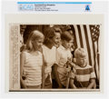"""Explorers:Space Exploration, AP Original Wirephotos: """"Spaceman's Family"""" July 24, 1969, Directly From The Armstrong Family Collection™, CAG Certified...."""